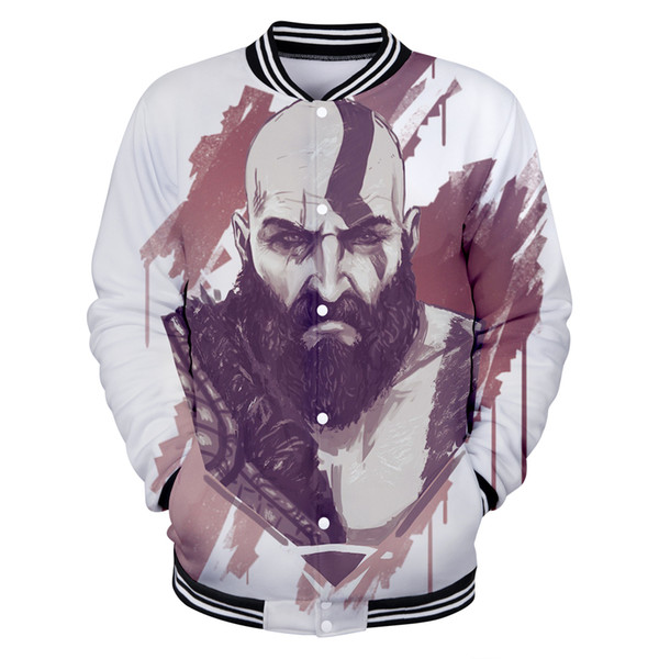 2018 New Ares 3D New Baseball Jacket Anime Games Male/Female Regular Fashion Baseball Jackets Casual Style Clothes