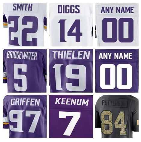 info for f7dc7 538b5 2019 2018 Minnesota Dalvin Cook Vikings Jersey Stefon Diggs Adam Thielen  Teddy Bridgewater Salute To Service American Football Jerseys Shirts Us  From ...