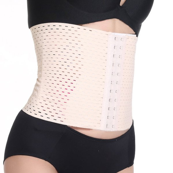 Unisex Body Shaper Latex Rubber Waist Trainer Cincher Underbust Corset Shapewear Slimming Control Yoga Belt (No Spiral Hooks)