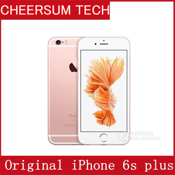Original refurbi hed apple iphone 6 plu without touch id io 9 dual core 2gb ram 16gb 64gb 128gb rom 12mp camera cell phone