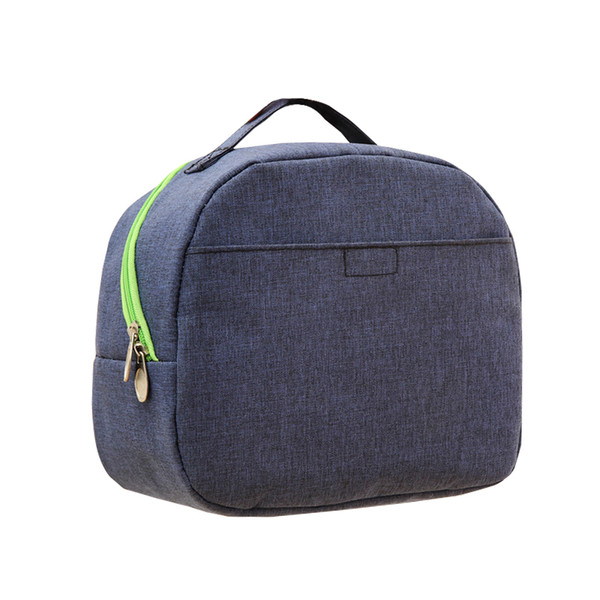 Casual Portable Lunch Bag Kid's Cooler Thermal Bento Pouch School Picnic Milk Preservation Insulation Organizer Accessories