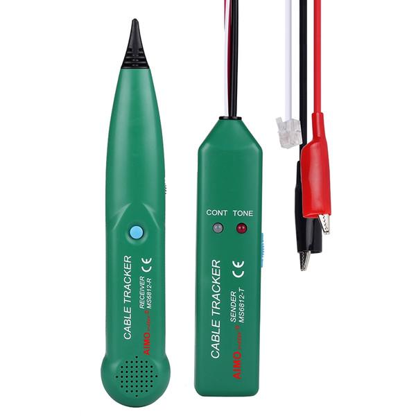 Tester per cavi di rete MASTECH LAN professionale per UTP STP Cat5 Cat5E Cat6 Cat6E RJ45 RJ11 Telefono Wire Tracker Tracer Cavo telefonico Trace