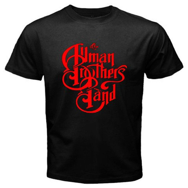 The Allman Brothers Band Rock Blues Icon Camiseta blanca para hombre, tamaño S a 3XL Camiseta, Camisa Masculina, cuello redondo, manga corta