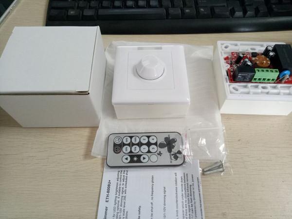 Free Shipping Newest IR remote control Triac led dimmer AC90-265V 3 years warranty