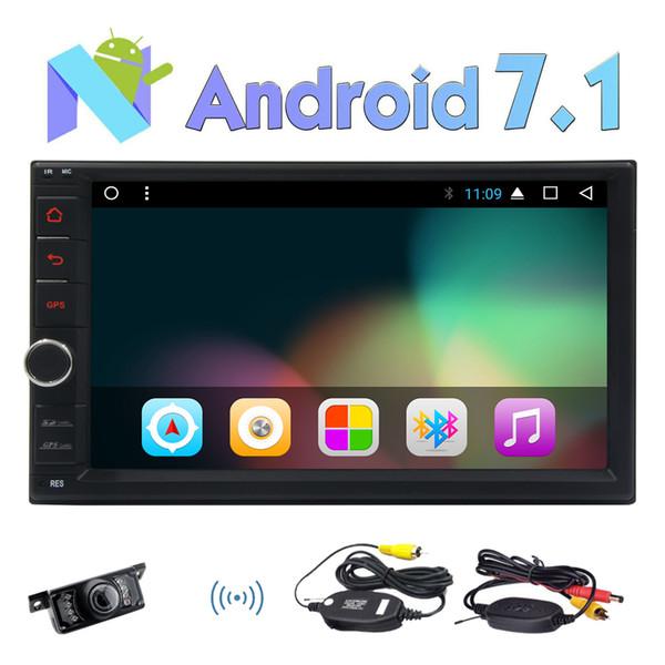 Eincar 7'' Double din Android 7.1 Stereo System Nougat Octa-Core 2G RAM Auto Radio 3D GPS Sat Navigation Bluetooth HeadUnit Car Player