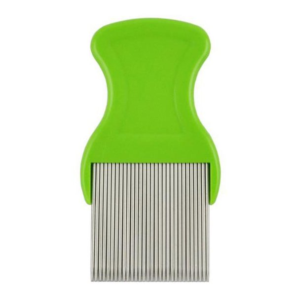 New Children Pet Flea Comb Stainless Steel Lice Long Needle Dense Tooth Comb Flea Hair Brushes