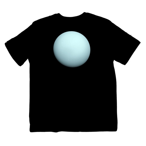 Uranus Star NASA Astrology Planet Sistema Solar Space Shirt S-XXXL Impresión en color