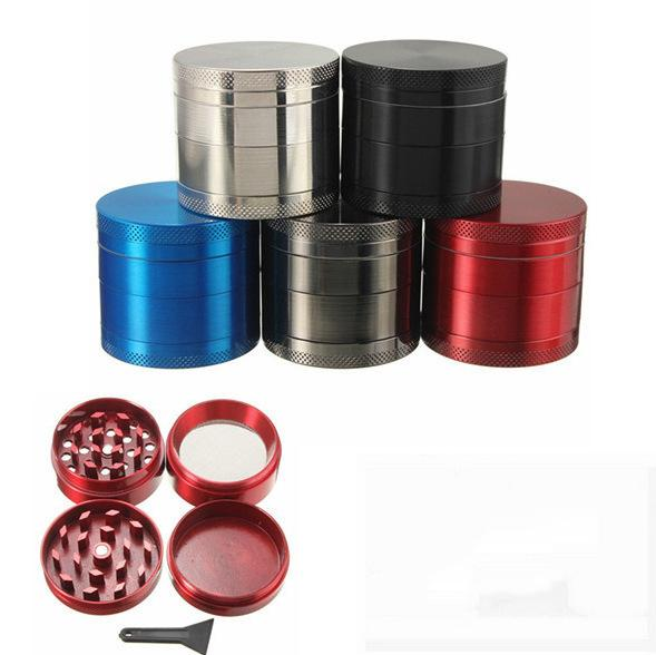 40mm Mini Zinc Alloy High Quality Herb Grinder Tobacco Smoke Crusher Hand Muller for Glass Bong Water Pipe Hot Sale