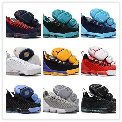 2018 Date de conception 22 Couleurs Los Angeles 16 XVI EP Égalité Faom Hommes Chaussures de basket-ball Pas cher vente MVP 16S Sports Baskets Baskets Taille 7-12