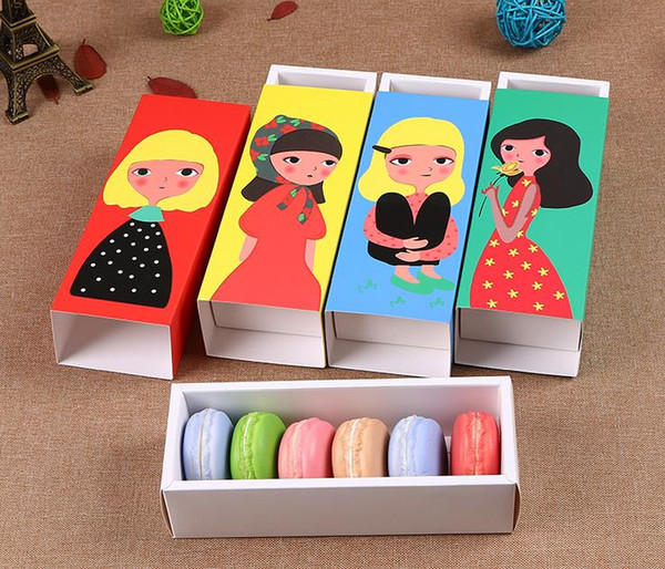Cookie Package Colorful Lovely Girl Macarons Box, Cake Box, Chocolate,  Muffin Biscuits Box Kitchen Baking Package Cheapest Moving Boxes Moving  Boxes