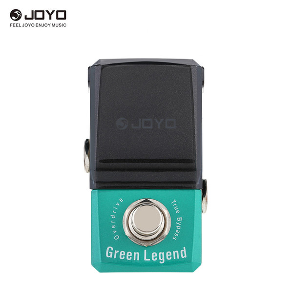 JOYO JF-319 Green Legend Overdrive Mini Electric Guitar Effect Pedal with Knob Guard with True Bypass