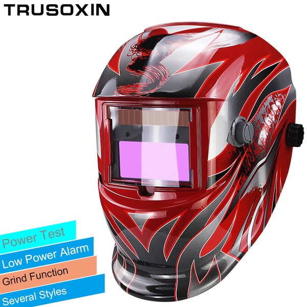 Protezione degli occhi Domino Solar Automatic Darken / Shading Grind / Polish TIG MIG MMA ARC Maschera per saldatura / Casco / Occhiali per saldatore per saldatore