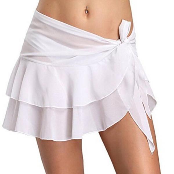 a024ff941 2018 moda de verano falda de las mujeres irregular irregular faldas cortas  ocasionales de la cintura