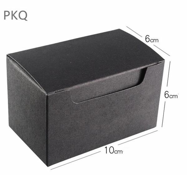 Black 10x6x6cm