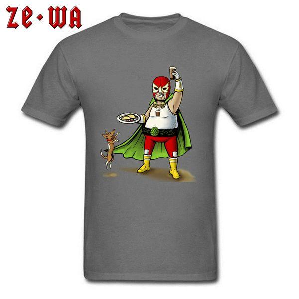 2018 Men T Shirt Funny Autumn T-shirts New Cotton Tops Tacos And Beer Lover Tees Custom Superhero Tshirt Clothes Drop Shipping