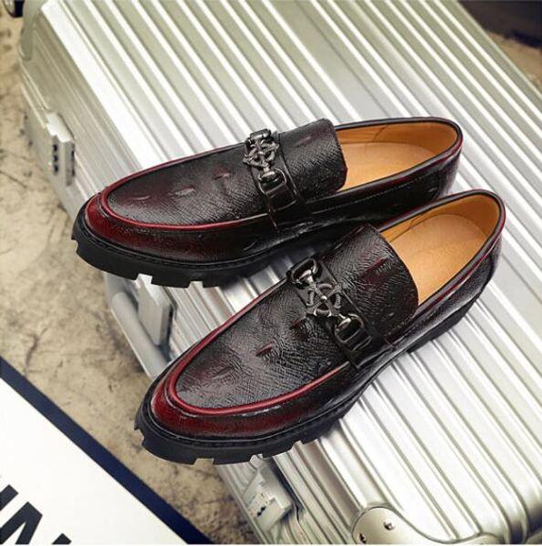Scarpe da uomo con punta a punta Scarpe da sposa Scarpe con nappe famose Scarpe eleganti da uomo Scarpe oxford in stile Brogue Rise Shoes 1hh21
