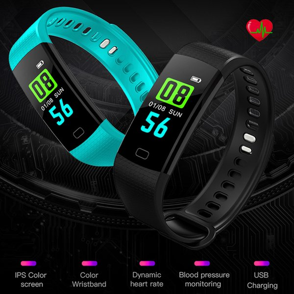 Waterproof Smart Wristband Electronics Bracelet Watch Activity Fitness Tracker Blood Pressure Heart Rate Monitor for VS Miband
