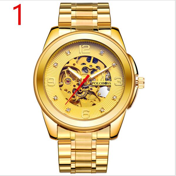 Herrenmode Uhr Edelstahl Unisex Concise Casual Luxus Business Wristwatch88