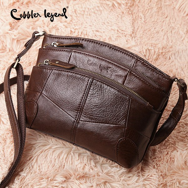 Clearance Genuine Leather Crossbody Bags for Women 2018 Handbag Female Shoulder Messenger Bags Ladies Small Tote Bag Purse
