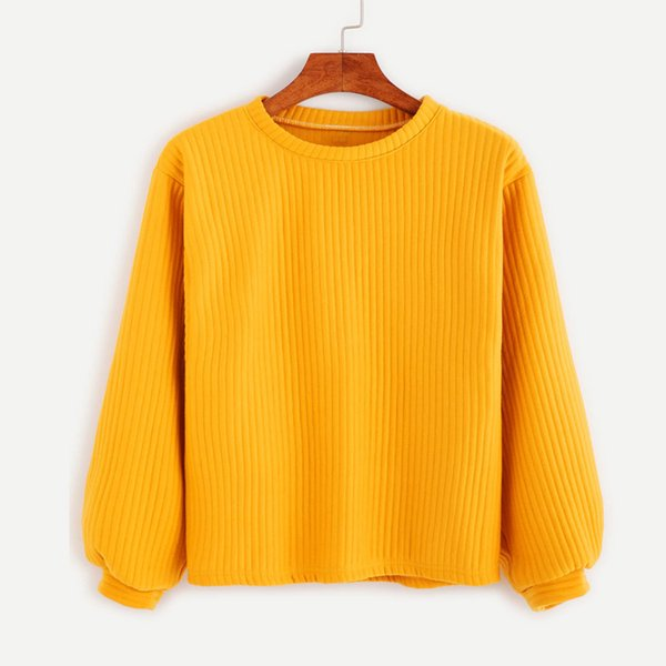 Women Sweaters Autumn Winter Cotton Casual Loose Yellow Knit Sweater Solid Color Harajuku Long Sleeve Pullover Mujer Cardigan