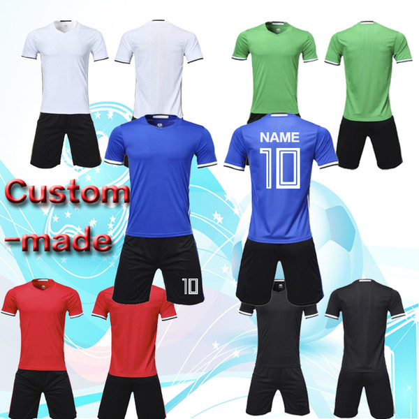 Welcome to order! The new 2018 soccer training kit, sportswear, sports balls, sweatshirts and DIY training teams can handle names, Numbers a