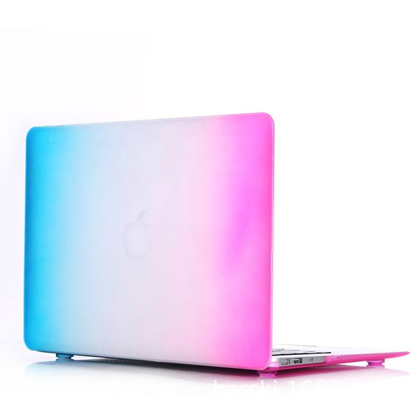 Macbook Apple notebook protective shell factory direct AirRetinaPRO multi-model rainbow protective shell