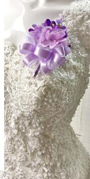 light purple corsages