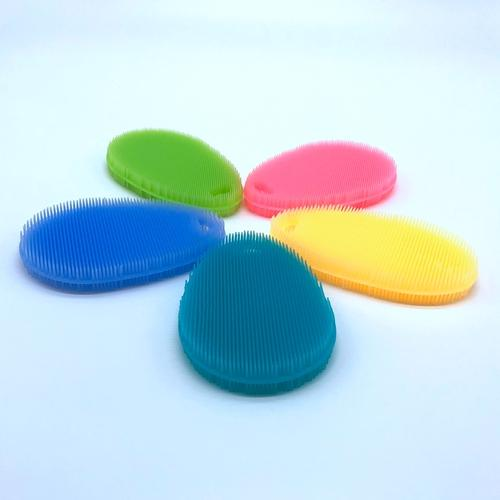 FDA Food Grade Silicone Multi-fonction Dish Bowl Cleaning Brushes Scouring Pad Pot Pan Wash Brushes Cleaner Kitchen
