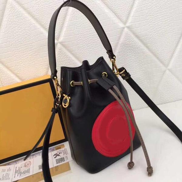 Fandi brand bucket designer bags 1894 model FF pattern designer bucket purse bag women purse mini small high quality handbag
