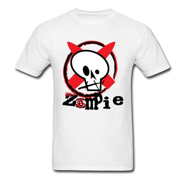Zombie Toon Homme Drôle Halloween T-Shirt