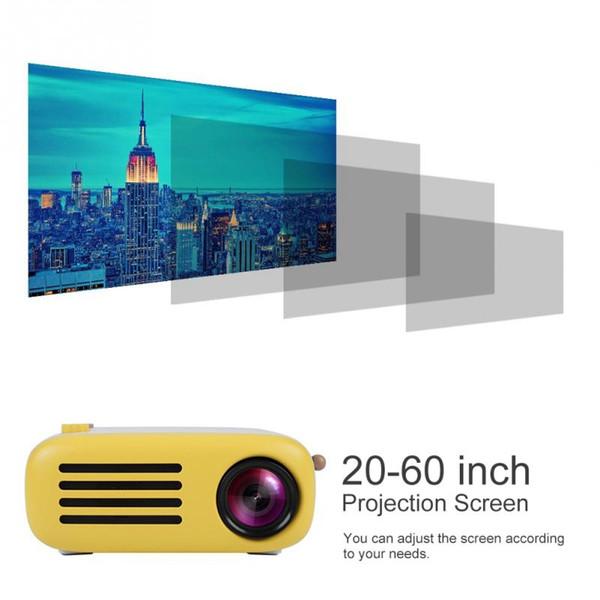 YG200 Mini HD 1080P LED Proyector portátil HDMI USB Cinema Soporte para teléfonos de computadora Proyector