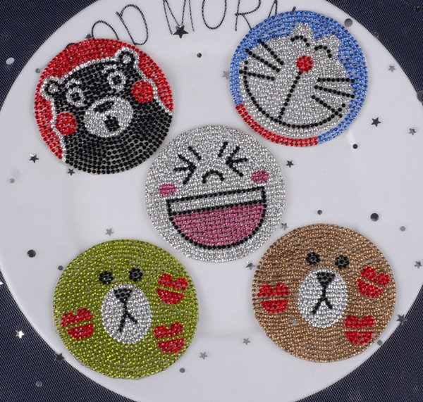 Free ship Iron-on motif pointback diamond rhinestone hotfix patches heat transfer fabric strass applique for clothing shoe bags crafts.