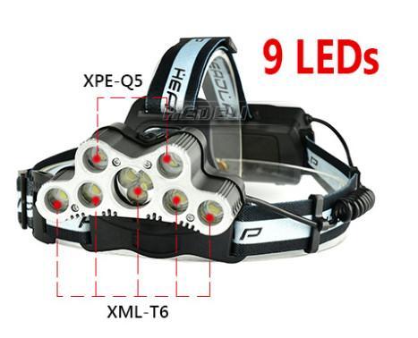 9 LEDS
