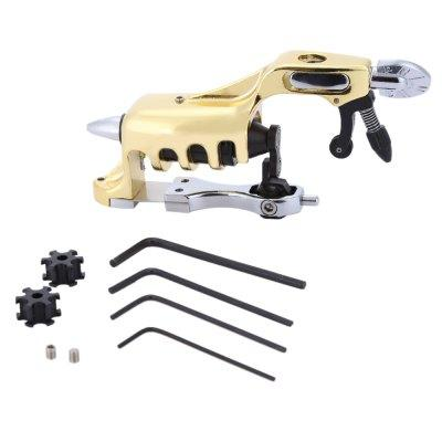 Titanium Alloy Rotary Motor Tattoo Machine Gun Excellent stability and feeling New frame design well balanced and very ergonomic