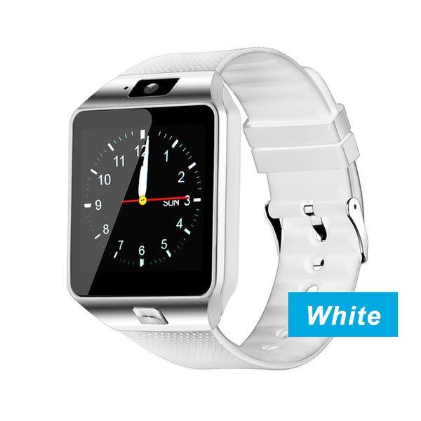 DZ09 reloj inteligente_blanco