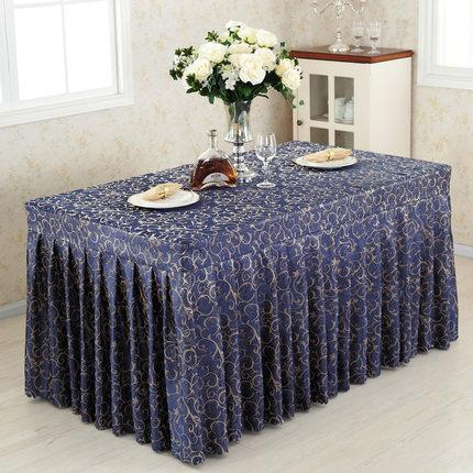 Dining table skirt sign in desk skirt exhibition movable desk cover table cloth