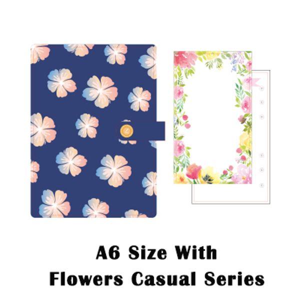 A6 Blumen lässig