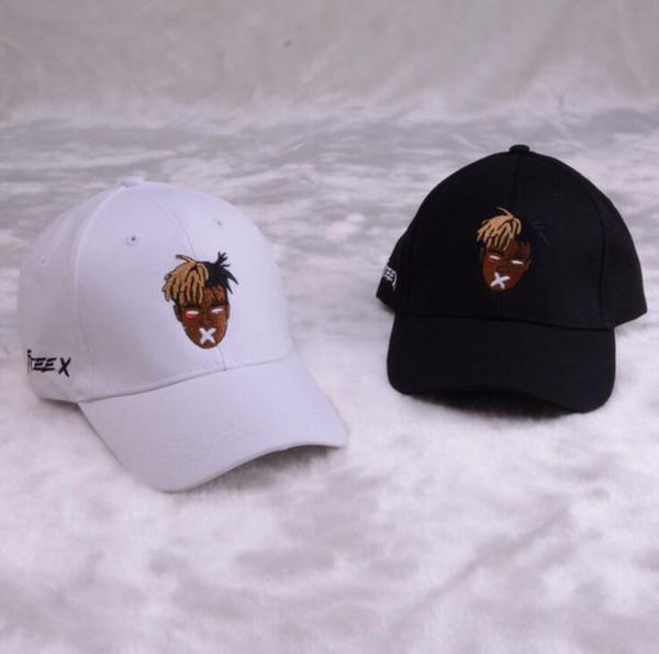 Cantante de algodón de alta calidad xxxtentacion Dreadlocks snapback cap para hombres mujeres hip hop sombrero de papá gorra de béisbol hueso garros