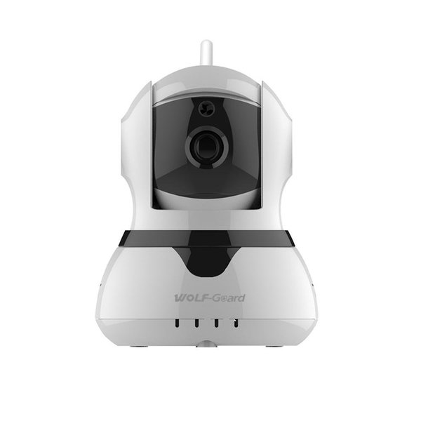 Wolf-Guard Wireless Home Alarm Security Burgle System 2G GSM WIFI Sheild Host with 720P IP Camera Door/PIR Sensor Motion Detector Access