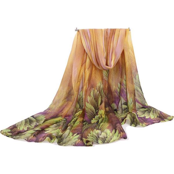 Wholesale 180cm*100cm 6 Colors Floral Fabric Designer Scarf Women Hijab Shawls Pashmina Head Wrap Scarf Table Blanket Beach Towel