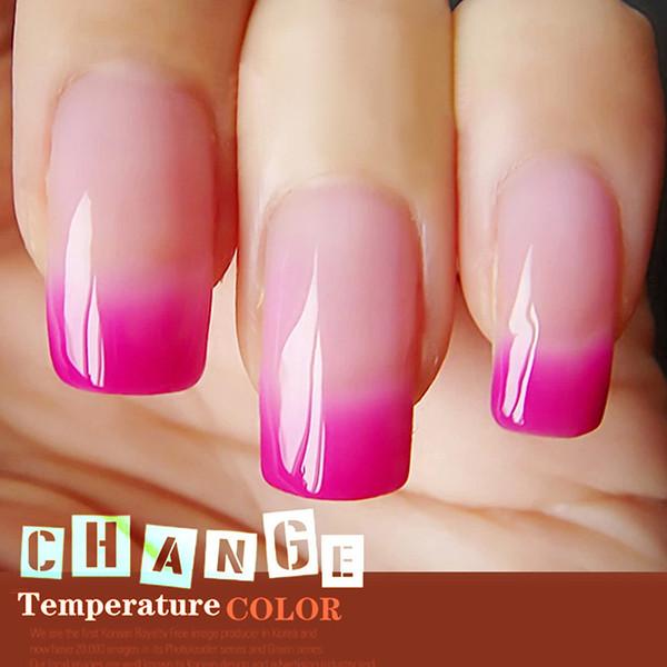 Gel Varnish Temperature Change Color Gel Len Nail Polish UV Soak Off Glitter Brand Long Lasting Led Lacquer Nail Polish