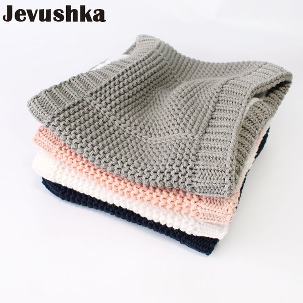 Cotton Winter Baby Infinity Scarf Knitted Scarves for Kids Girl and Boy Scarf SF013 D18102905