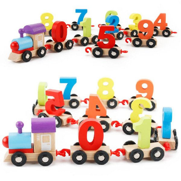 Colorful Educational train toys