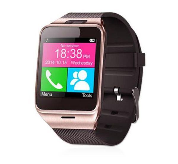 2017 Fashion Aplus Smart Watch GV18 Support Micro SIM Card NFC Communication 3.0 Clock 550mAh Battery Long Duration
