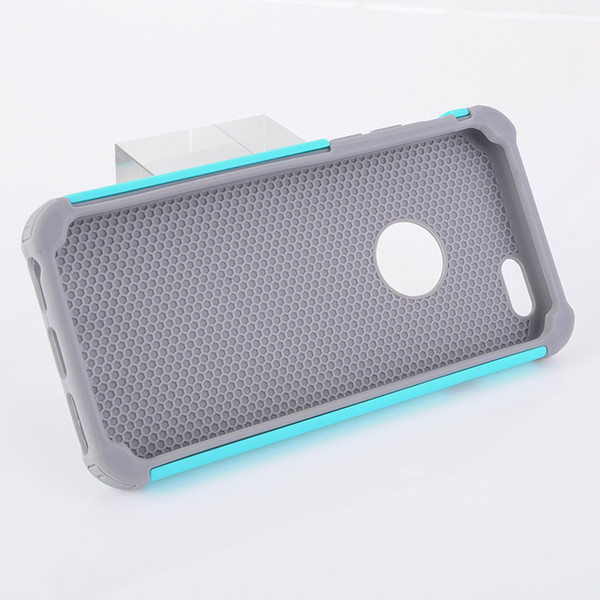 Protective for iphone case 3in1 football grain honey comb heat dissipation robot phone case for Samsung mobile case