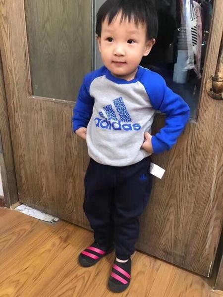 Children's Garment Children's Garment Increase Down Thickening Suit Winter Clothes Stock Children's Garment Suit