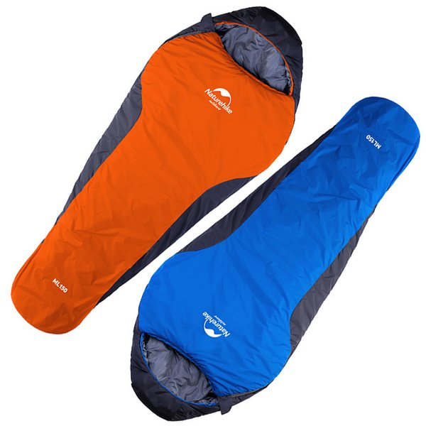 2 Styles Outdoors Lightweight Three Season Mummy Sleeping Bag For Camping Hiking Backpacking Ultralight Compactable Free DHL H225Q