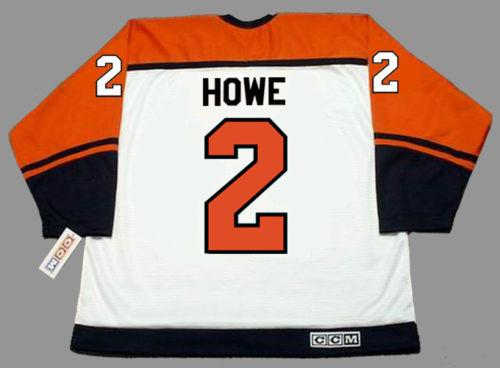 Men Women Youth 2018 Custom Goalie Cut MARK HOWE Philadelphia Flyers ... 295df0dc881