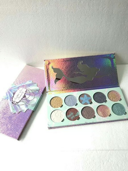 Waterproof Long-lasting Bittee lace Beauty Eye Shadow Palette 10 colors highlighter palette DHL Free Cosmetics