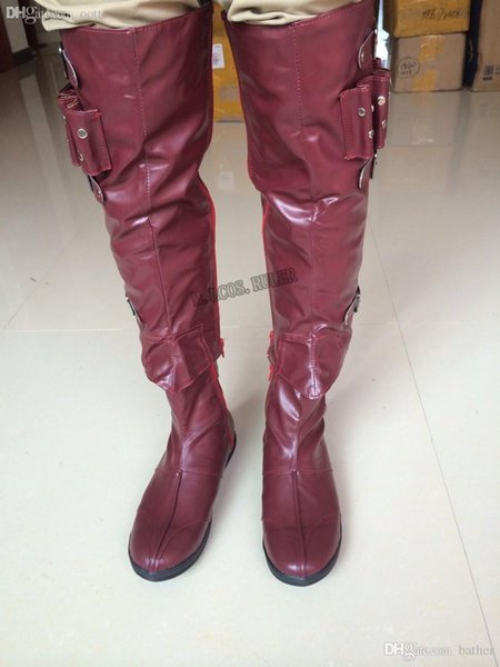 Assassin Altair Creed Master BaiboyDHgate Gros Acheter De103 Anime Du Chaussures 41 Com Cosplay Bottes LMqzpSUVG